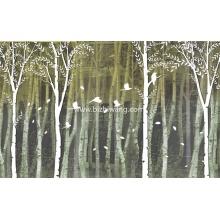 HYBH_ARTW_QZYS3_59349_矢量树林风景_风景壁纸_现代壁画