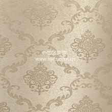 HYBZ_LP_LP66_26 恒艺墙布-简欧无缝墙布-大马士革图案提花墙布